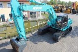 Kobelco SK 250 LC, Kettenbagger