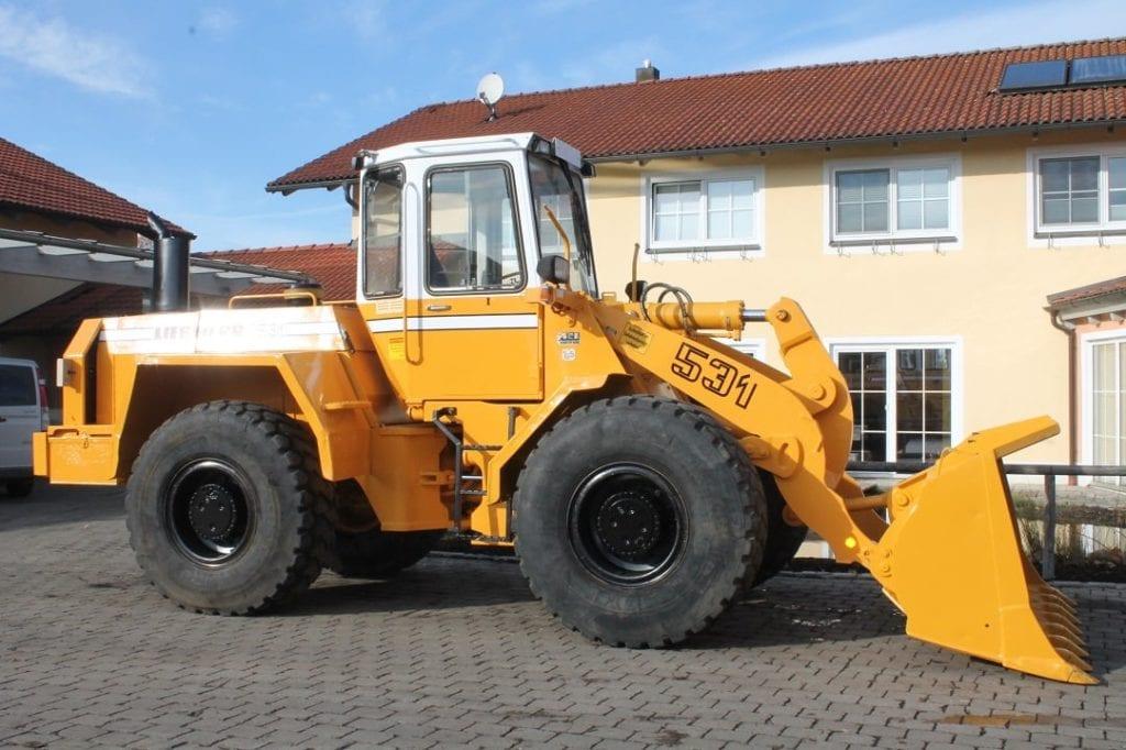Wheel loader Liebherr L531