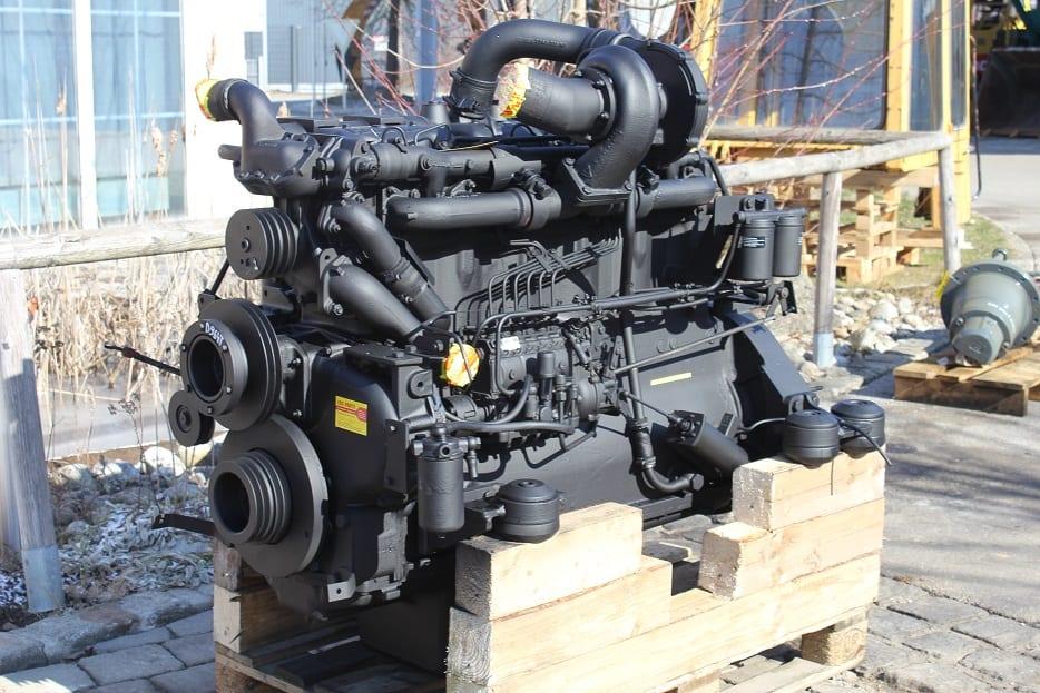 Hanomag 964t 66d Motor Dieselmotor Radlader