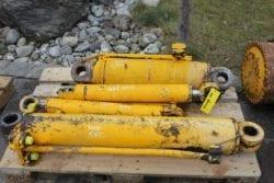 Hydraulikzylinder aus Hanomag 55C