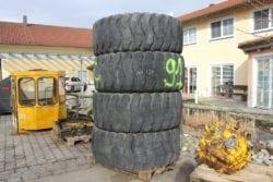 Reifen,  20,5/25 aus Hanomag 55C