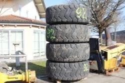 Reifen 23,5/25 aus  Hanomag  60E
