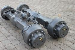Achsen aus O&K MH 4, Bagger