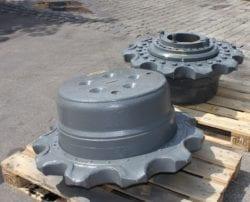 Liebherr, R974, Endantrieb FAT 550