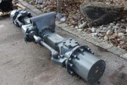 Achse/ Lenkachse ZF 3060, aus A904C , Bagger