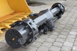 Achsen ZF 775, aus ZM 19, Bagger