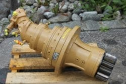 Drehwerksgetriebe Fiat-Hitachi FH 150 Transmital 735