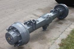 Achse ZF AP B 755,  aus Liebherr A900LIT, Bagger