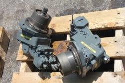 Case 788 LC, Fahrmotor