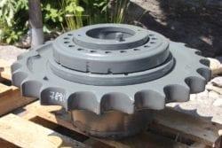 Case 788 LC, Transmittal, Endantrieb