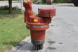 Drehwerksgetriebe Liebherr R974, PSG 550 / 551