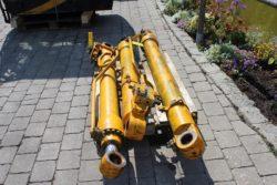 Hydraulikzylinder aus JCB 210