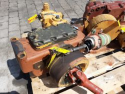 Fahrgetriebe aus Liebherr A912