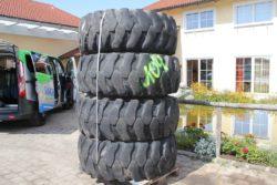 Reifen 20-24 aus Case  621, Radlader