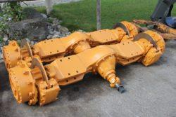 Achsen aus Case 621,  Radlader