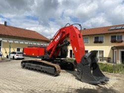 O&K RH 9.5, Kettenbagger mit Hochschaufel