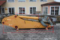 Löffelstiel aus Liebherr R 944