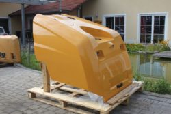 Motorhaube Liebherr L 550, L556